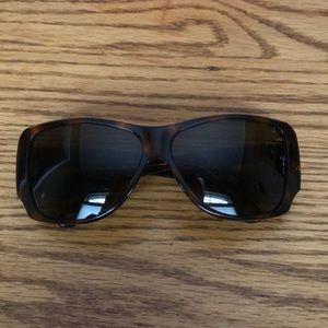 Chanel tortoise shell sunglasses